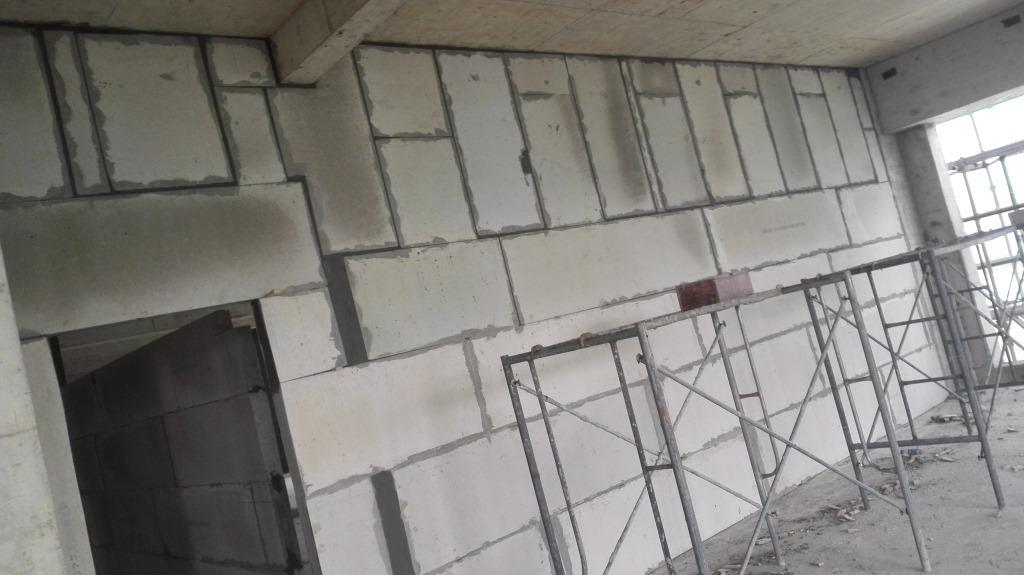 贝博足彩app轻质隔墙工程安装小结