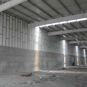 厂房高墙防火墙解决方案